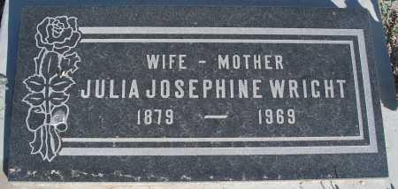 WRIGHT, JULIA JOSEPHINE - Mohave County, Arizona | JULIA JOSEPHINE WRIGHT - Arizona Gravestone Photos