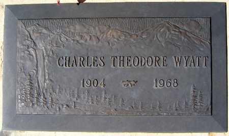 WYATT, CHARLES THEODORE - Mohave County, Arizona   CHARLES THEODORE WYATT - Arizona Gravestone Photos