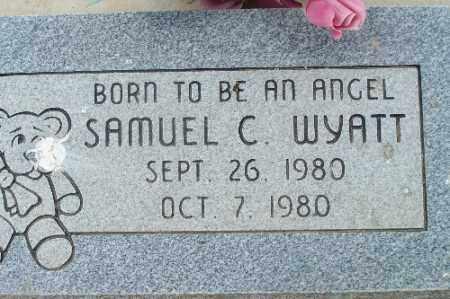 WYATT, SAMUEL C - Mohave County, Arizona   SAMUEL C WYATT - Arizona Gravestone Photos