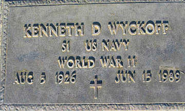 WYCKOFF, KENNETH D - Mohave County, Arizona | KENNETH D WYCKOFF - Arizona Gravestone Photos