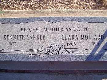 MOLLARD, CLARA - Mohave County, Arizona | CLARA MOLLARD - Arizona Gravestone Photos