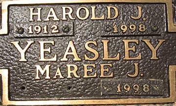 YEASLEY, MAREE J - Mohave County, Arizona | MAREE J YEASLEY - Arizona Gravestone Photos