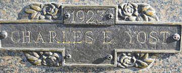 YOST, CHARLES E - Mohave County, Arizona | CHARLES E YOST - Arizona Gravestone Photos