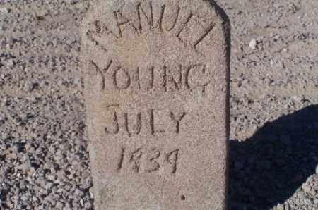 YOUNG, MANUEL - Mohave County, Arizona | MANUEL YOUNG - Arizona Gravestone Photos