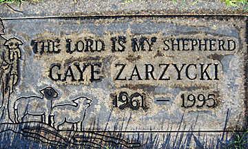 ZARZYCKI, GAYE - Mohave County, Arizona | GAYE ZARZYCKI - Arizona Gravestone Photos