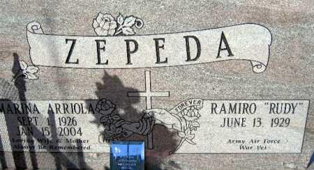 ZEPEDA, MARINA ARRIOLA - Mohave County, Arizona   MARINA ARRIOLA ZEPEDA - Arizona Gravestone Photos