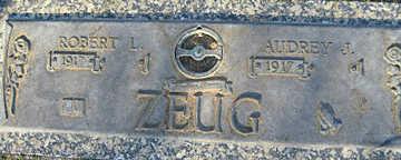 ZEUG, ROBERT L - Mohave County, Arizona | ROBERT L ZEUG - Arizona Gravestone Photos