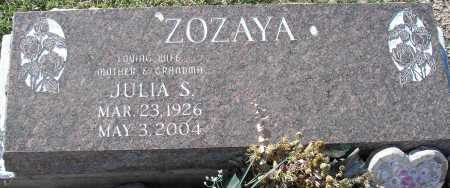 ZOZAYA, JULIA S. - Mohave County, Arizona | JULIA S. ZOZAYA - Arizona Gravestone Photos