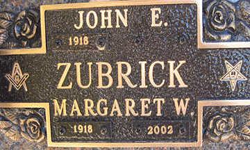 ZUBRICK, JOHN E - Mohave County, Arizona   JOHN E ZUBRICK - Arizona Gravestone Photos