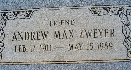 ZWEYER, ANDREW MAX - Mohave County, Arizona | ANDREW MAX ZWEYER - Arizona Gravestone Photos