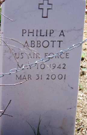 ABBOTT, PHILIP ARTHUR - Navajo County, Arizona | PHILIP ARTHUR ABBOTT - Arizona Gravestone Photos