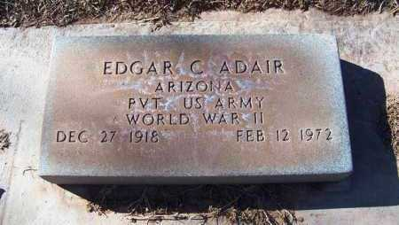 ADAIR, EDGAR CLEMENTS - Navajo County, Arizona | EDGAR CLEMENTS ADAIR - Arizona Gravestone Photos