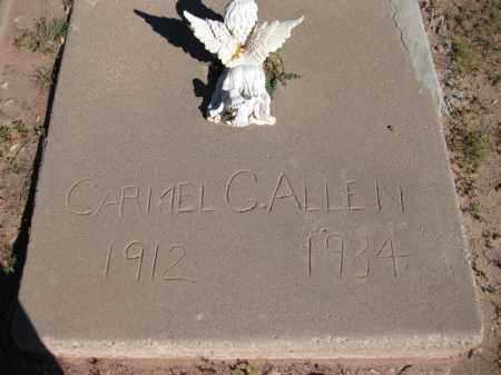 GARCIA ALLEN, CARMEL - Navajo County, Arizona | CARMEL GARCIA ALLEN - Arizona Gravestone Photos