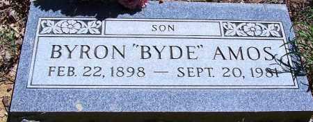 AMOS, BYRON (BYDE) - Navajo County, Arizona | BYRON (BYDE) AMOS - Arizona Gravestone Photos