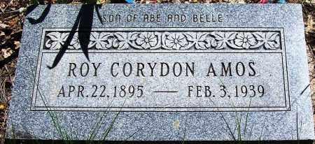 AMOS, ROY CORYDON - Navajo County, Arizona | ROY CORYDON AMOS - Arizona Gravestone Photos