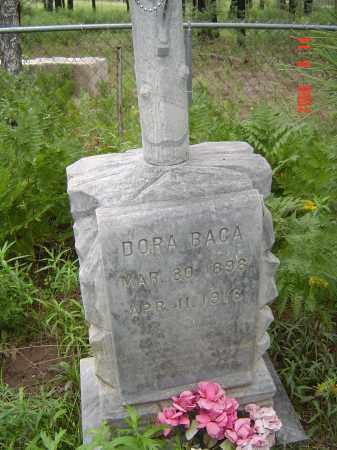 BACA, DORA - Navajo County, Arizona   DORA BACA - Arizona Gravestone Photos