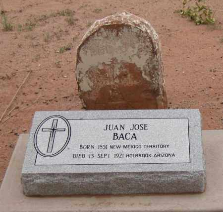 BACA, JUAN JOSE - Navajo County, Arizona | JUAN JOSE BACA - Arizona Gravestone Photos