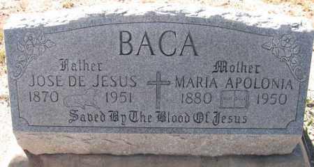 BACA, JOSE DE JESUS - Navajo County, Arizona | JOSE DE JESUS BACA - Arizona Gravestone Photos