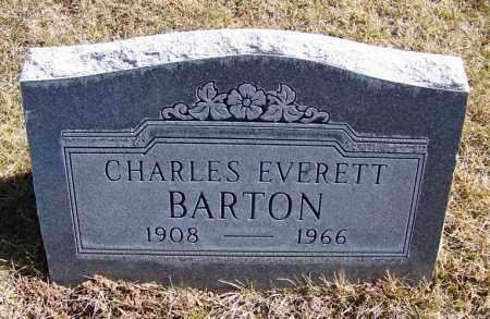 BARTON, CHARLES EVERETT - Navajo County, Arizona | CHARLES EVERETT BARTON - Arizona Gravestone Photos