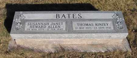 BATES, THOMAS KINZEY - Navajo County, Arizona | THOMAS KINZEY BATES - Arizona Gravestone Photos