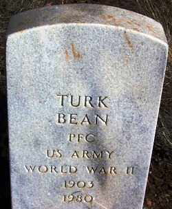 BEAN, TURK - Navajo County, Arizona | TURK BEAN - Arizona Gravestone Photos