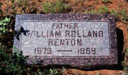 BENTON, WILLIAM ROLLAND - Navajo County, Arizona   WILLIAM ROLLAND BENTON - Arizona Gravestone Photos