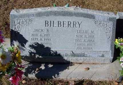 BILBERRY, LILLIE M. - Navajo County, Arizona | LILLIE M. BILBERRY - Arizona Gravestone Photos