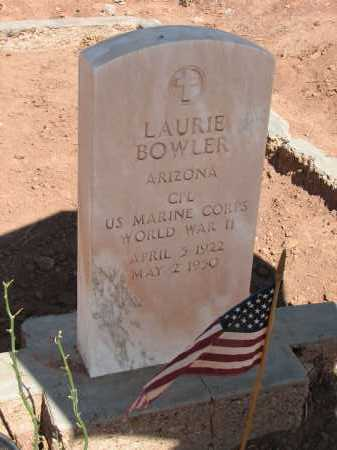 BOWLER, LAURIE - Navajo County, Arizona | LAURIE BOWLER - Arizona Gravestone Photos