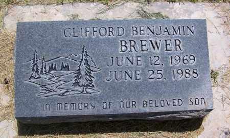 BREWER, CLIFFORD BENJAMIN - Navajo County, Arizona   CLIFFORD BENJAMIN BREWER - Arizona Gravestone Photos