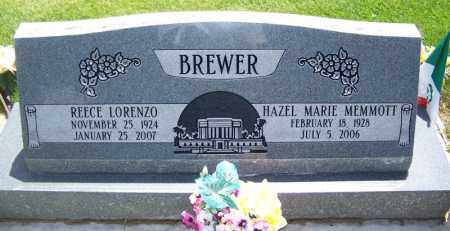 BREWER, HAZEL MARIE - Navajo County, Arizona | HAZEL MARIE BREWER - Arizona Gravestone Photos