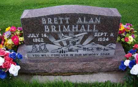 BRIMHALL, BRETT ALAN - Navajo County, Arizona | BRETT ALAN BRIMHALL - Arizona Gravestone Photos