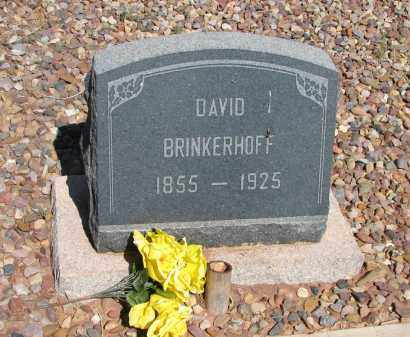 BRINKERHOFF, DAVID - Navajo County, Arizona | DAVID BRINKERHOFF - Arizona Gravestone Photos