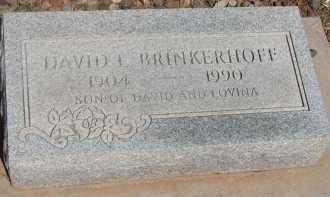 BRINKERHOFF, DAVID L. - Navajo County, Arizona | DAVID L. BRINKERHOFF - Arizona Gravestone Photos