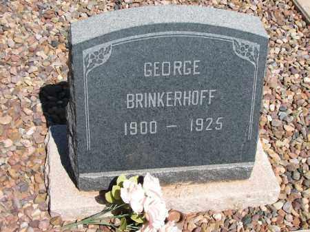BRINKERHOFF, GEORGE - Navajo County, Arizona | GEORGE BRINKERHOFF - Arizona Gravestone Photos