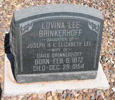 BRINKERHOFF, LOVINA LEE - Navajo County, Arizona | LOVINA LEE BRINKERHOFF - Arizona Gravestone Photos