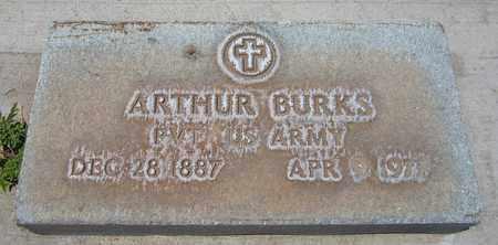 BURKS, ARTHUR - Navajo County, Arizona | ARTHUR BURKS - Arizona Gravestone Photos