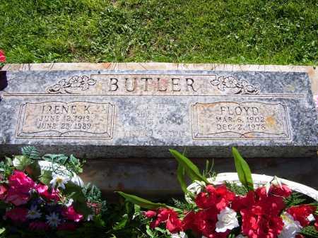 BUTLER, IRENE K - Navajo County, Arizona | IRENE K BUTLER - Arizona Gravestone Photos