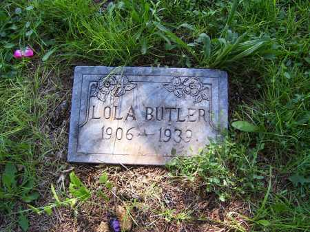 BUTLER, LOLA - Navajo County, Arizona   LOLA BUTLER - Arizona Gravestone Photos