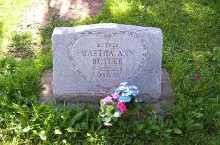 BUTLER, MARTHA ANN - Navajo County, Arizona | MARTHA ANN BUTLER - Arizona Gravestone Photos