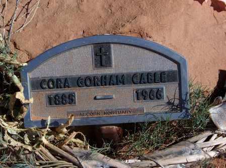 CABLE, CORA - Navajo County, Arizona | CORA CABLE - Arizona Gravestone Photos