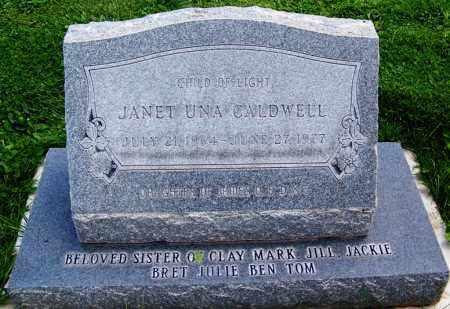 CALDWELL, JANET UNA - Navajo County, Arizona   JANET UNA CALDWELL - Arizona Gravestone Photos