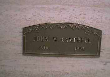 CAMPBELL, JOHN - Navajo County, Arizona | JOHN CAMPBELL - Arizona Gravestone Photos