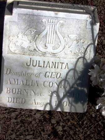 CONKLIN, JULIANITA - Navajo County, Arizona | JULIANITA CONKLIN - Arizona Gravestone Photos