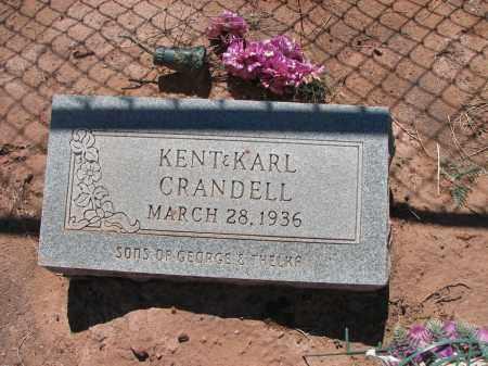 CRANDELL, KENT - Navajo County, Arizona | KENT CRANDELL - Arizona Gravestone Photos