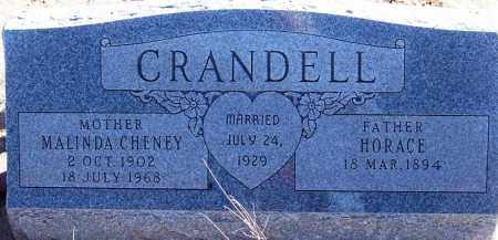 CHENEY CRANDELL, MALINDA - Navajo County, Arizona | MALINDA CHENEY CRANDELL - Arizona Gravestone Photos