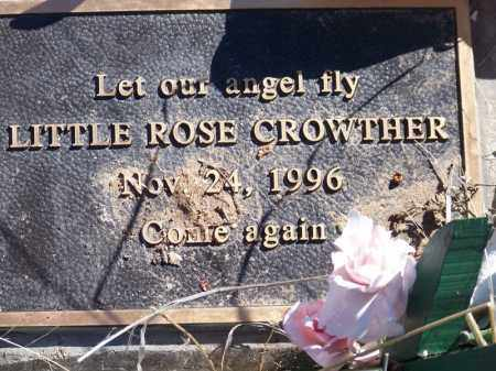 CROWTHER, ROSE - Navajo County, Arizona | ROSE CROWTHER - Arizona Gravestone Photos