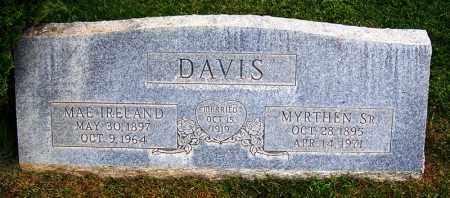 IRELAND DAVIS, MAE - Navajo County, Arizona | MAE IRELAND DAVIS - Arizona Gravestone Photos