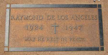 DE LOS ANGELES, RAYMOND - Navajo County, Arizona | RAYMOND DE LOS ANGELES - Arizona Gravestone Photos