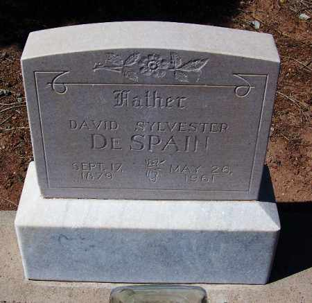 DESPAIN, DAVID SYLVESTER - Navajo County, Arizona | DAVID SYLVESTER DESPAIN - Arizona Gravestone Photos