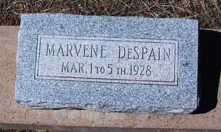 DESPAIN, MARVENE - Navajo County, Arizona | MARVENE DESPAIN - Arizona Gravestone Photos
